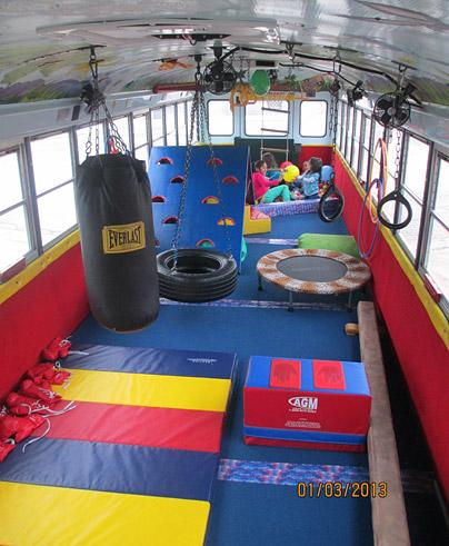 Tumble Gym Bus